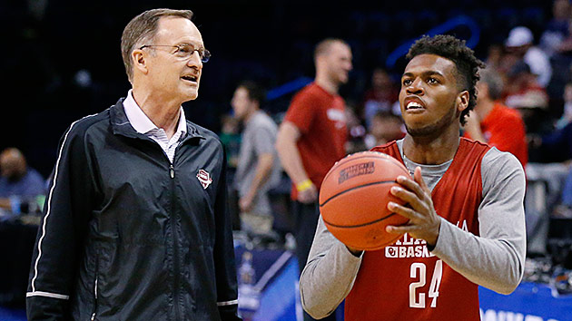 Lon Kruger and Buddy Hield
