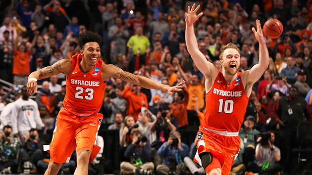 Ncaa Tournament Syracuse Improbably Advances To Final Four Si Com
