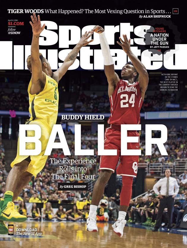 buddy hield oklahoma sooners final four sports illustrated cover
