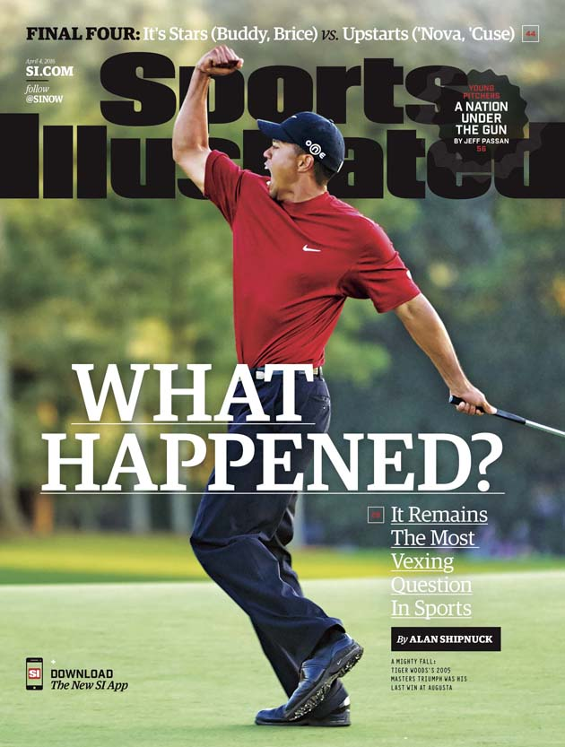 sports illustrated cover tiger woods masters