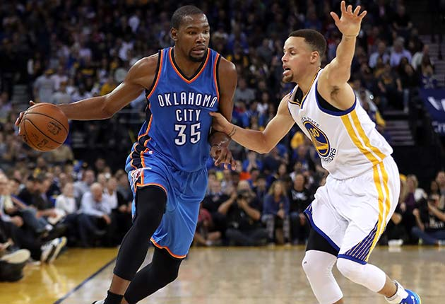 Kevin Durant; Stephen Curry