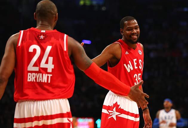 Kobe Bryant; Kevin Durant