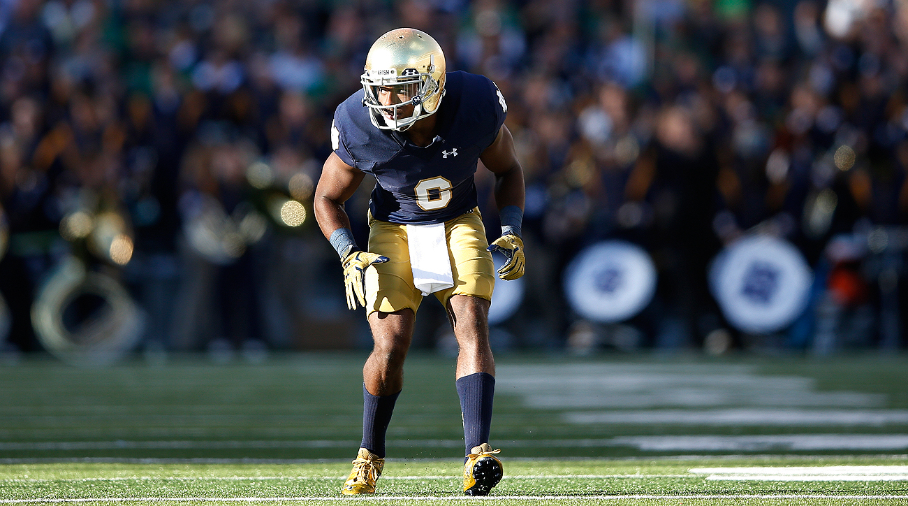 An inconsistent college career at Notre Dame due to injuries and a suspension has made cornerback KeiVarae Russell a difficult prospect to evaluate.