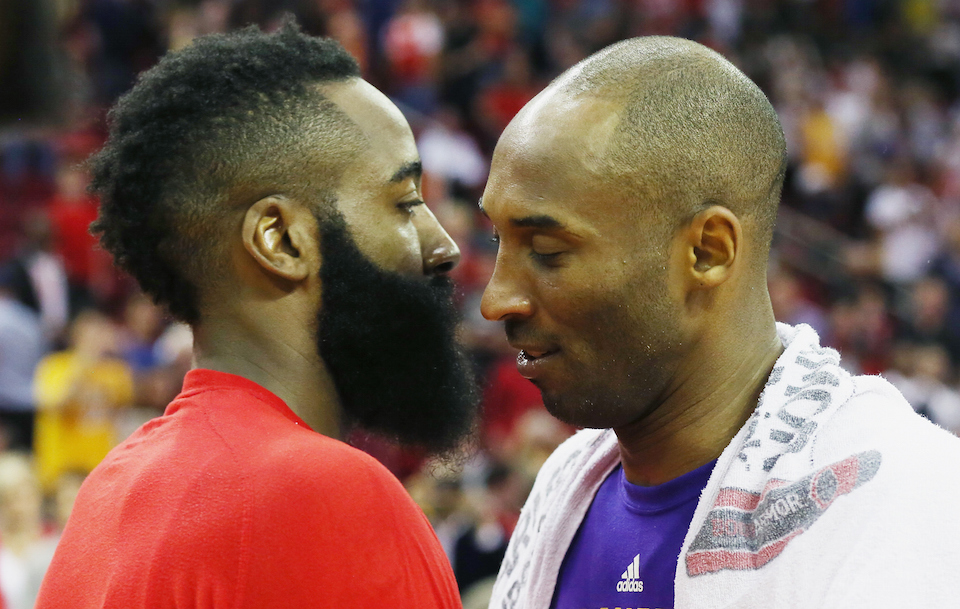 James Harden asked Kobe Bryant for help catching the Utah ...