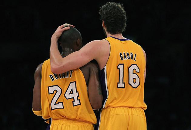 Kobe Bryant; Pau Gasol