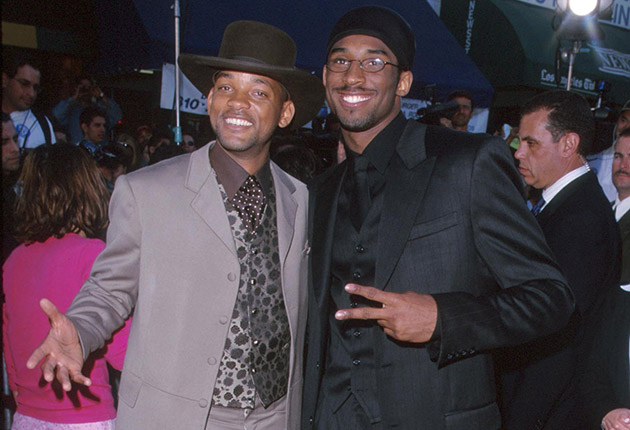 Will Smith and Kobe Bryant