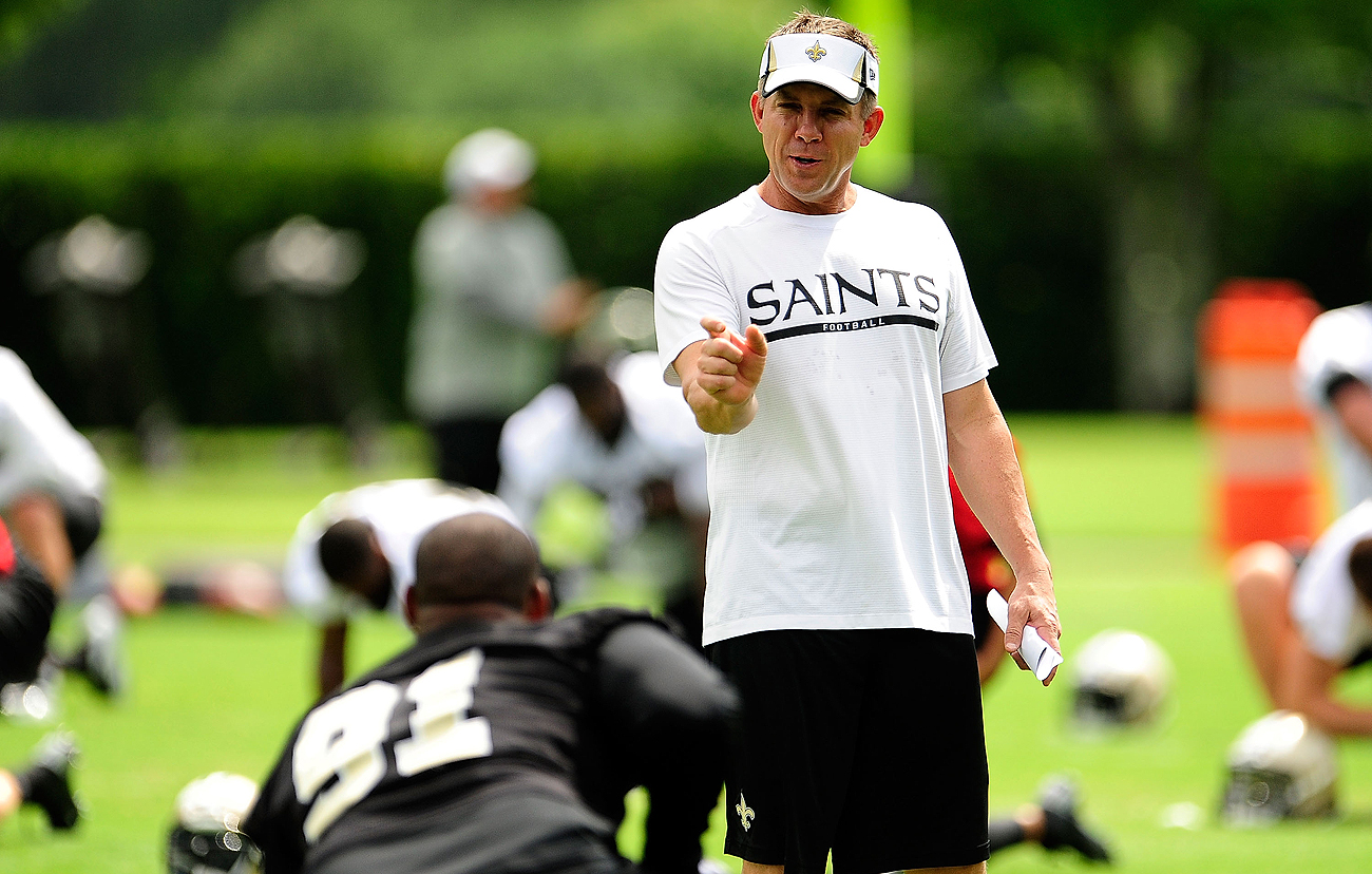 Smith preceded Sean Payton in New Orleans, but the coach kept the defensive lineman who turned into a team leader.