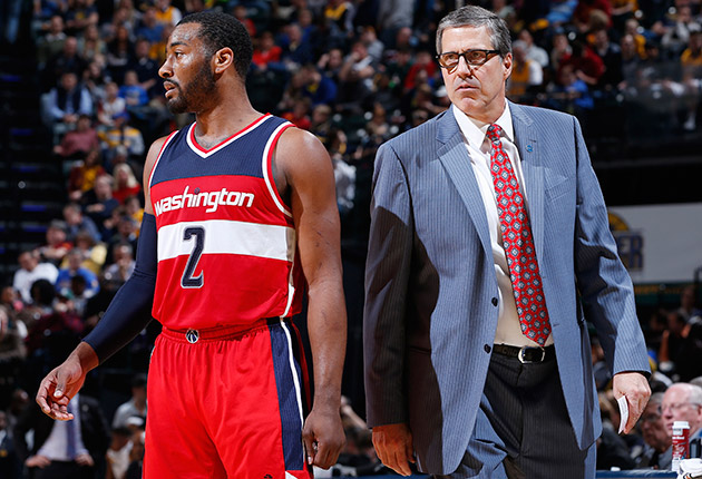 John Wall and Randy Wittman