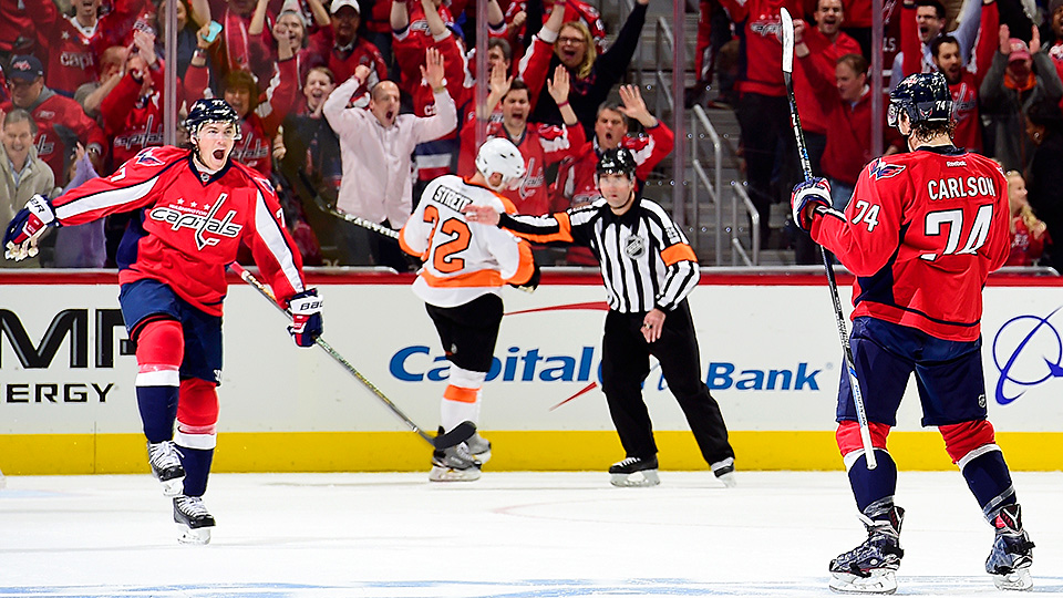 Capitals beat Flyers in Game 1