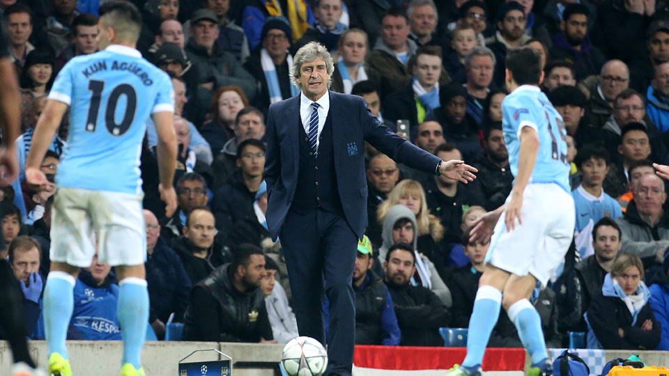 Manuel Pellegrini has Manchester City in the Champions League semifinals