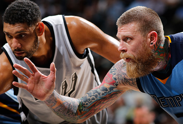 Tim Duncan; Chris Andersen