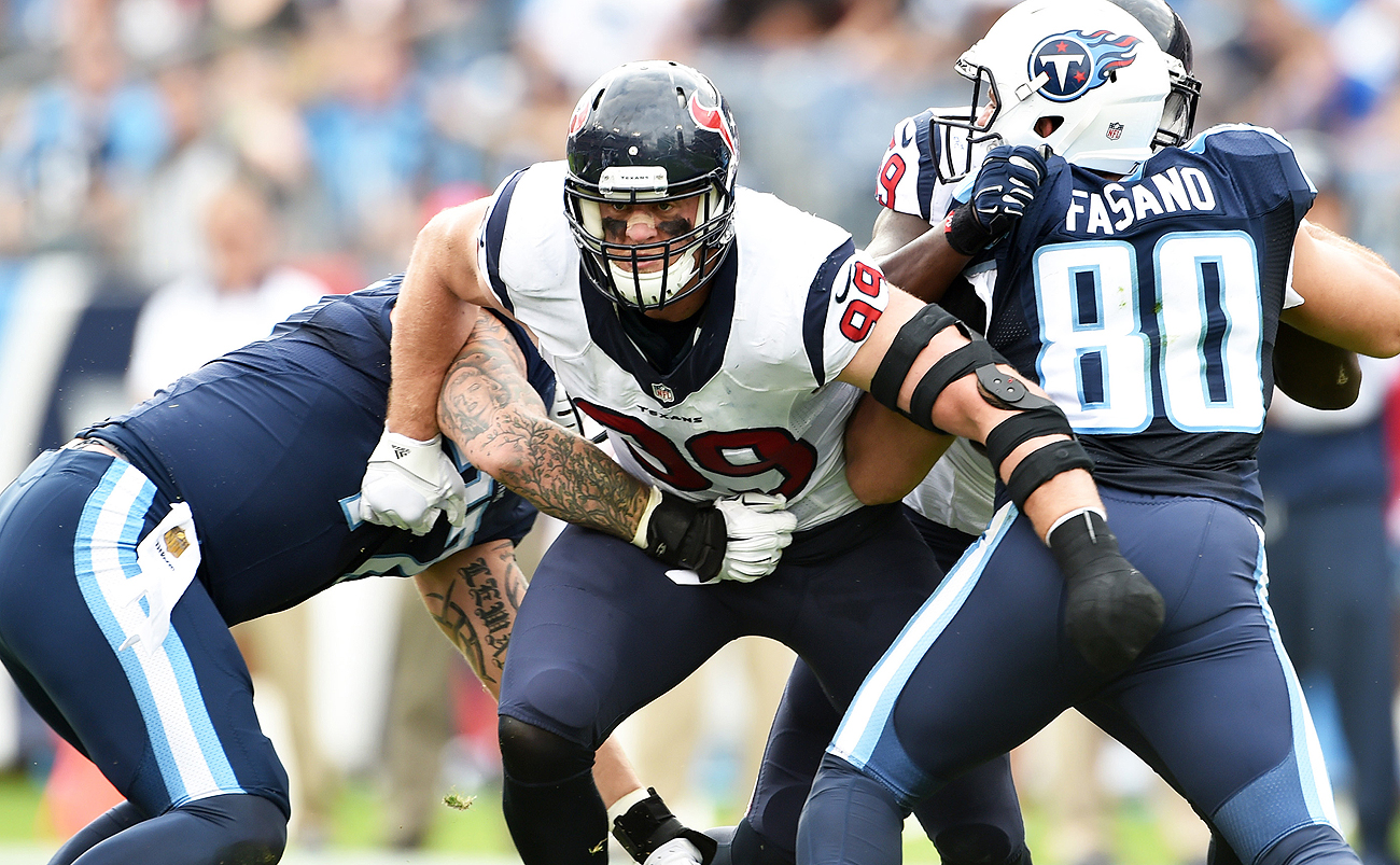 After just five seasons, Watt already ranks 70th on the NFL's all-time sack list with 74.5.