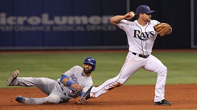 Jose Bautista, Toronto Blue Jays; Logan Forsythe, Tampa Bay Rays