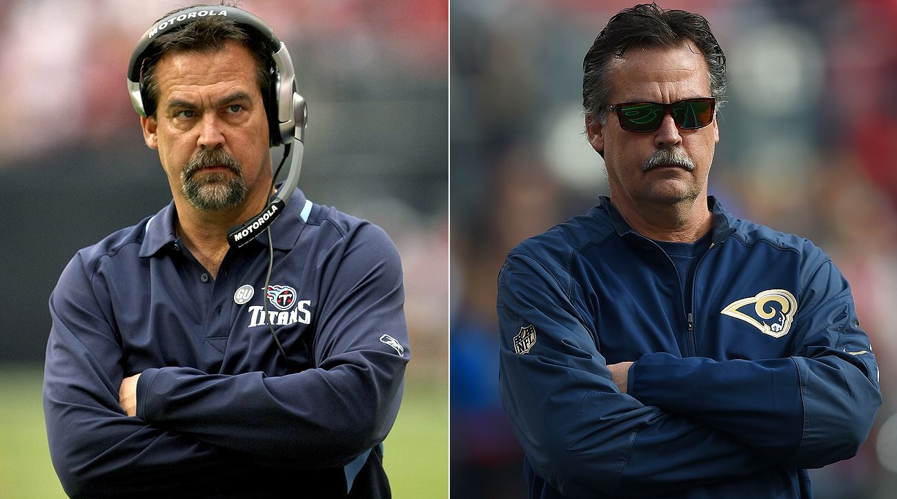 In a fun coincidence, Rams coach Jeff Fisher found himself involved in negotiations with the franchise he coached for 16 seasons.