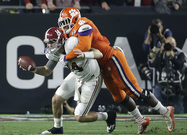 Atlanta already has Vic Beasley and Grady Jarrett and may add another Clemson defensive lineman: Shaq Lawson.