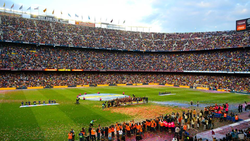 barcelona camp nou renovation video
