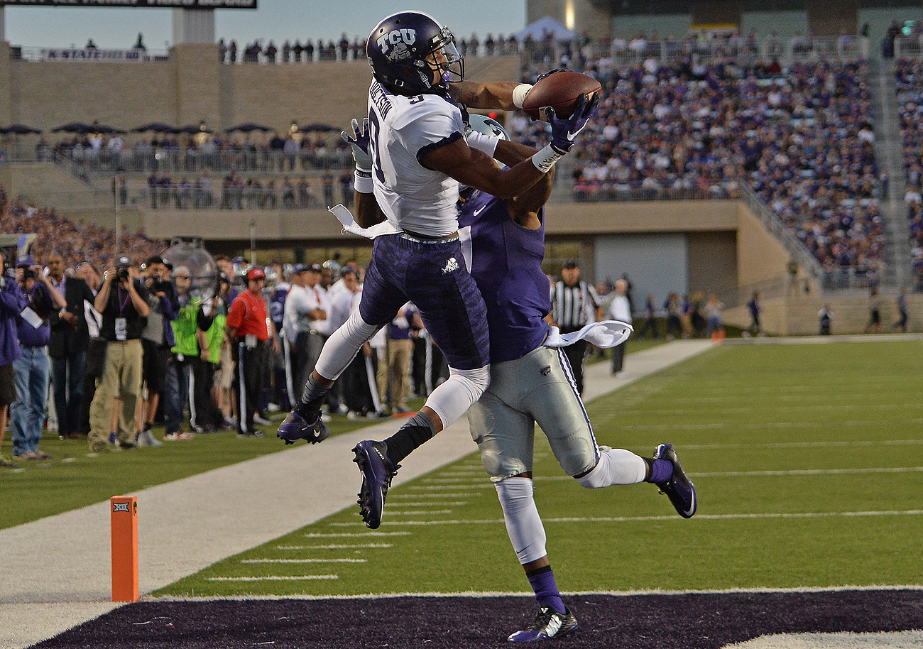TCU's Josh Docston could be the first wide receiver picked in the 2016 draft.