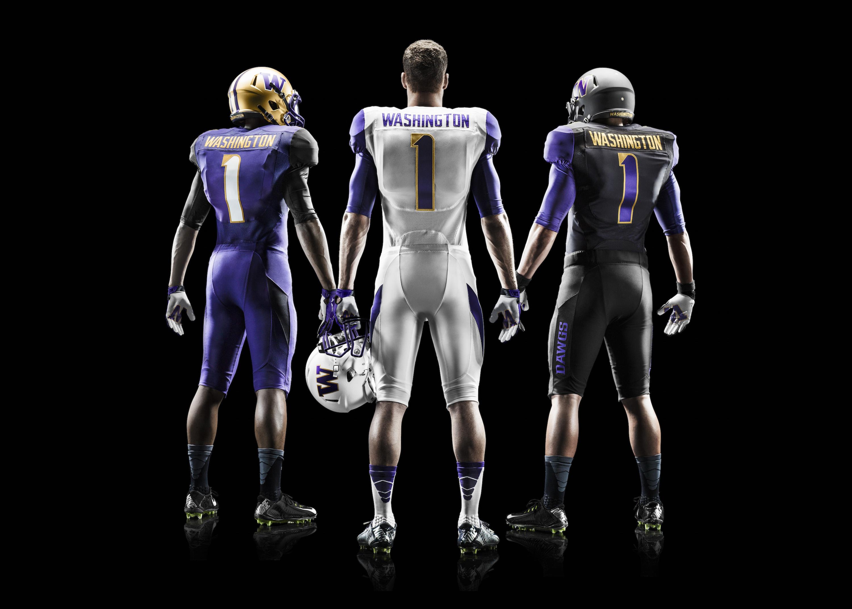 on sale fc82b 79f29 Washington Huskies unveil revamped football uniforms | SI.com