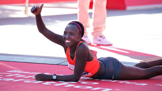 florence kiplagat london marathon preview