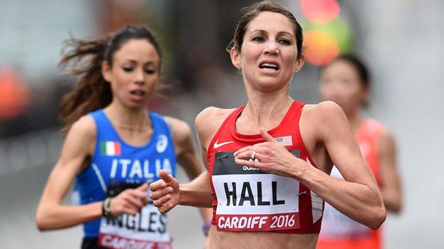 sara hall london marathon preview