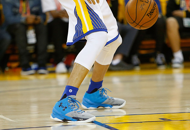 Stephen Curry's ankle