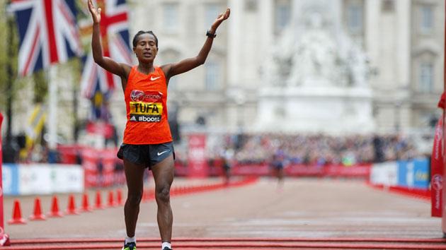 tigist tufa london marathon preview