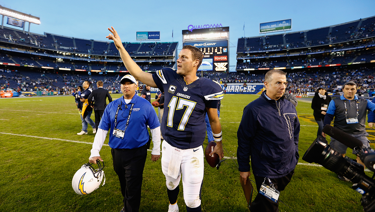 Philip Rivers and the Chargers hope they don't have to wave goodbye to San Diego after the season.