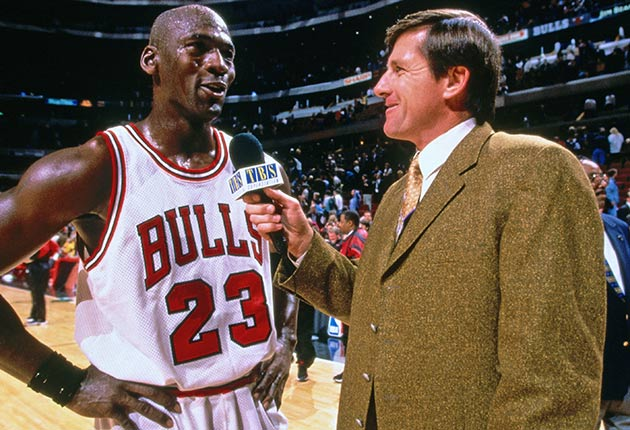 Michael Jordan and Craig Sager