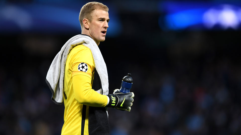 Manchester City goalkeeper Joe Hart comes up big vs. Real Madrid in Champions League