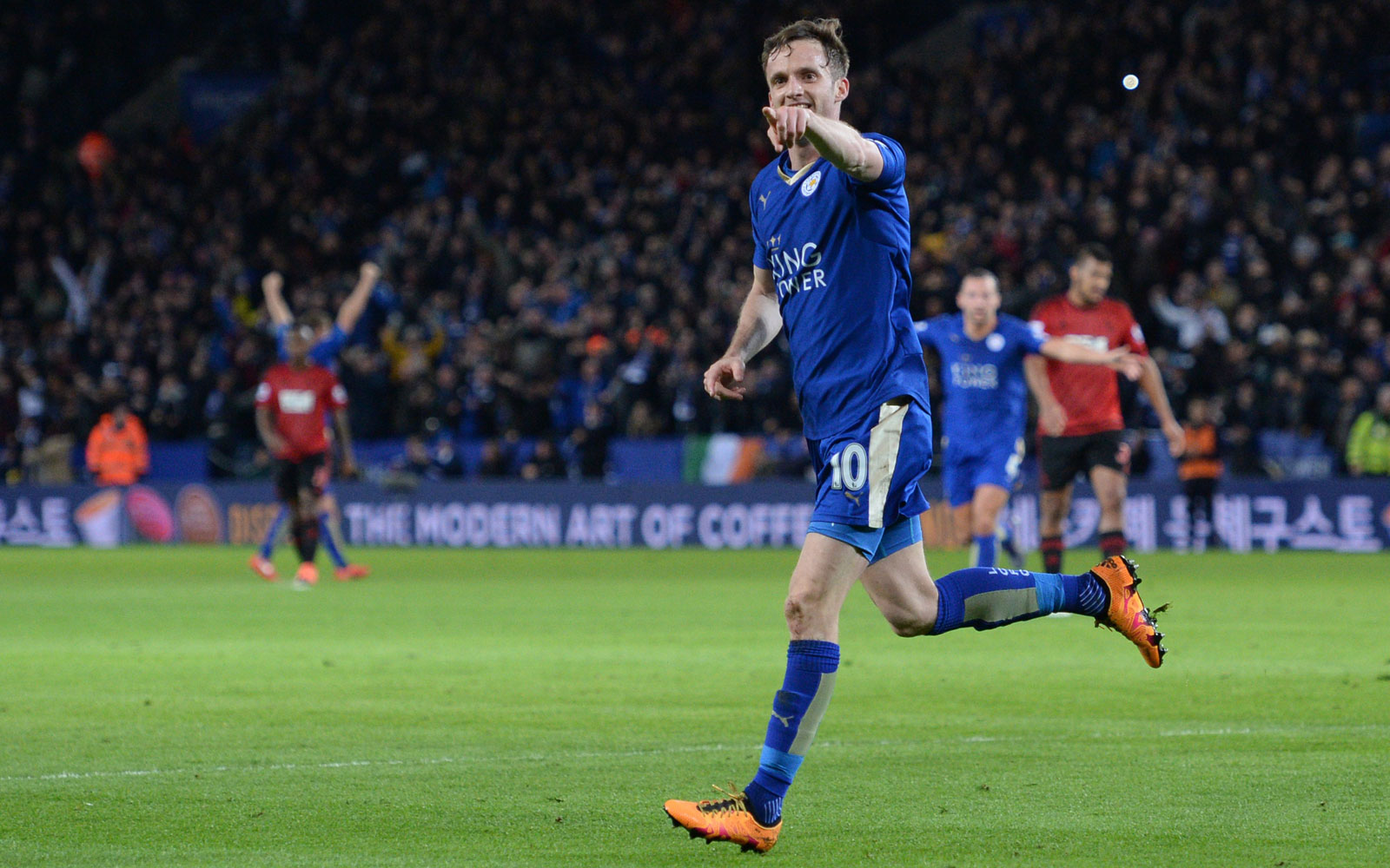 Not that it was ever remotely in doubt, but Leicester ensured safety from relegation with a 2-2 home draw vs. West Brom.