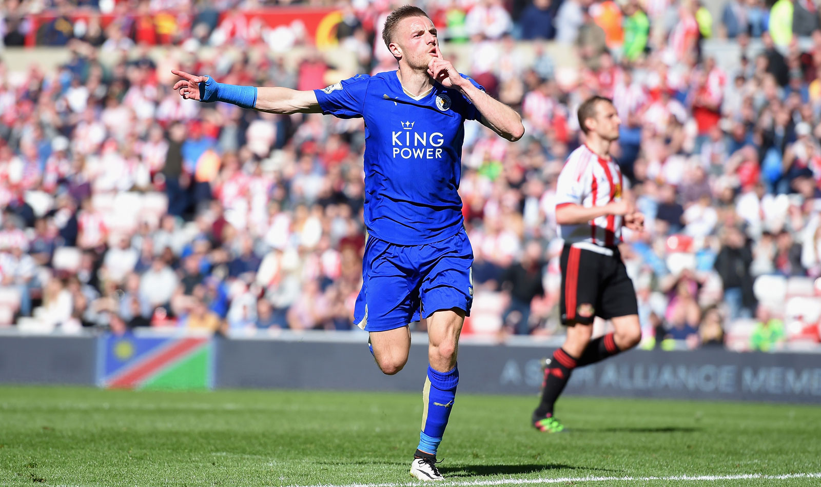 It went overlooked given the club's title aspirations, but Leicester clinched an almost equally improbable place in next season's Champions League with a 2-0 win at Sunderland, cementing a top-four place. Jamie Vardy's two goals did the honors.