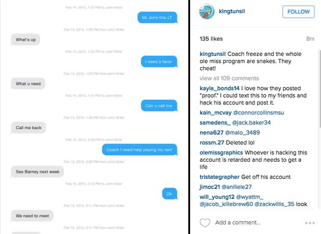 laremy tunsil instagram hack draft