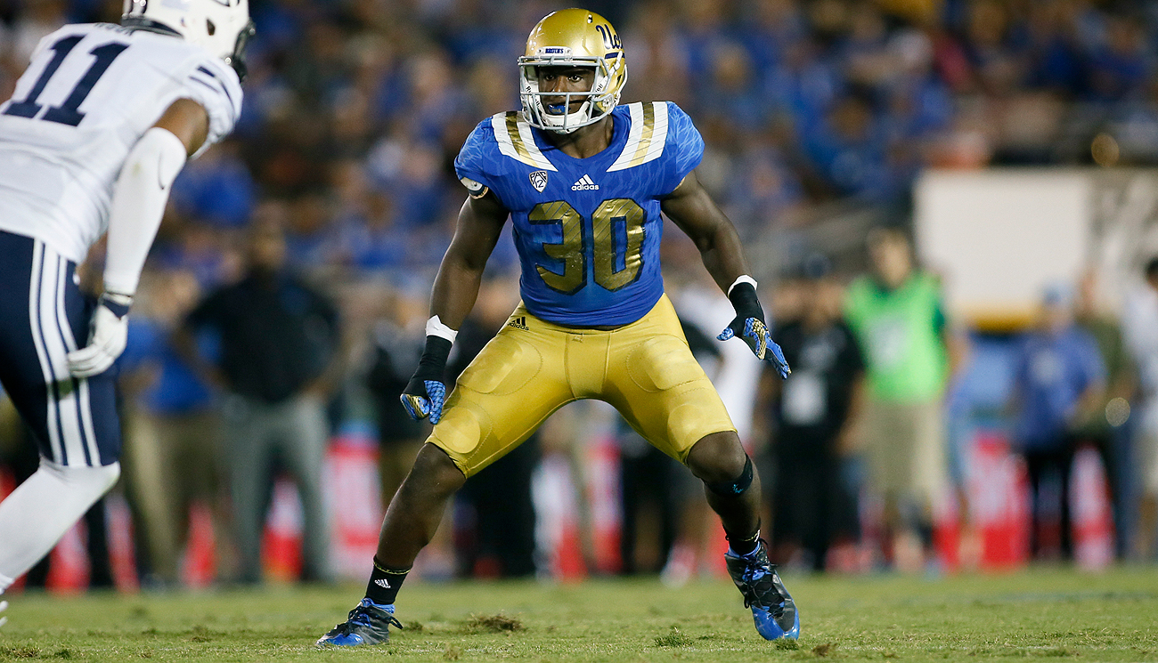 UCLA linebacker Myles Jack is slipping in the draft due to concerns about his knee.