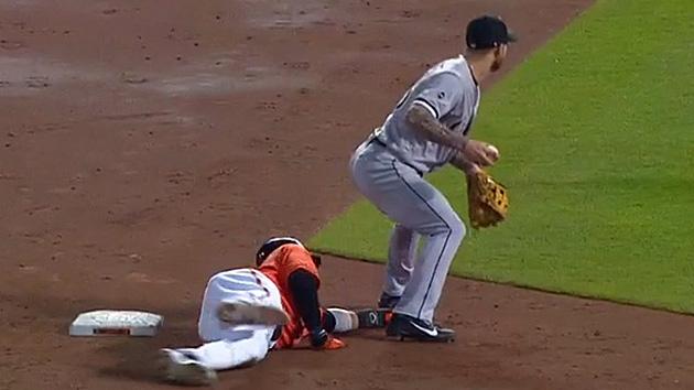 Manny Machado Orioles slide