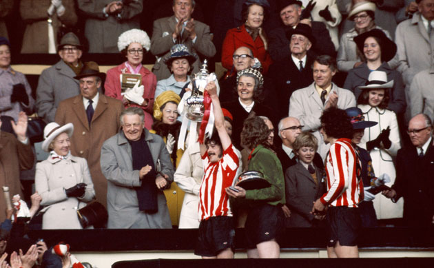 Sunderland captures the 1973 FA Cup in the most improbable fashion, beating mighty Leeds United