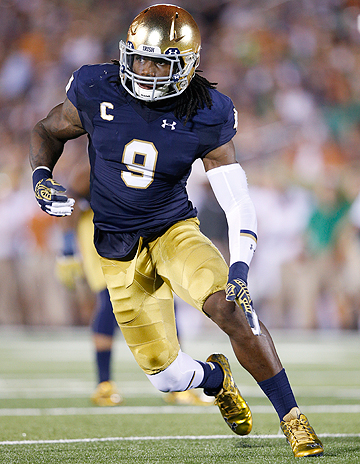 Jaylon Smith was considered one of the top prospects in the draft before a devastating knee injury in Notre Dame's bowl game.