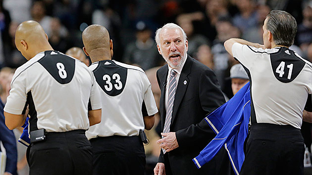 Gregg Popovich San Antonio Spurs