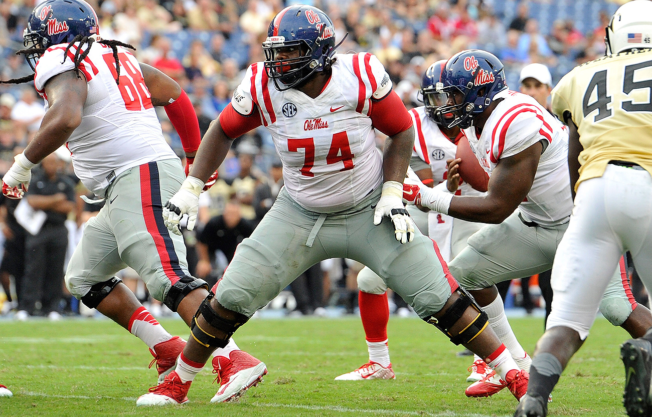 Fahn Cooper is the other Ole Miss lineman selected in the 2016 draft.