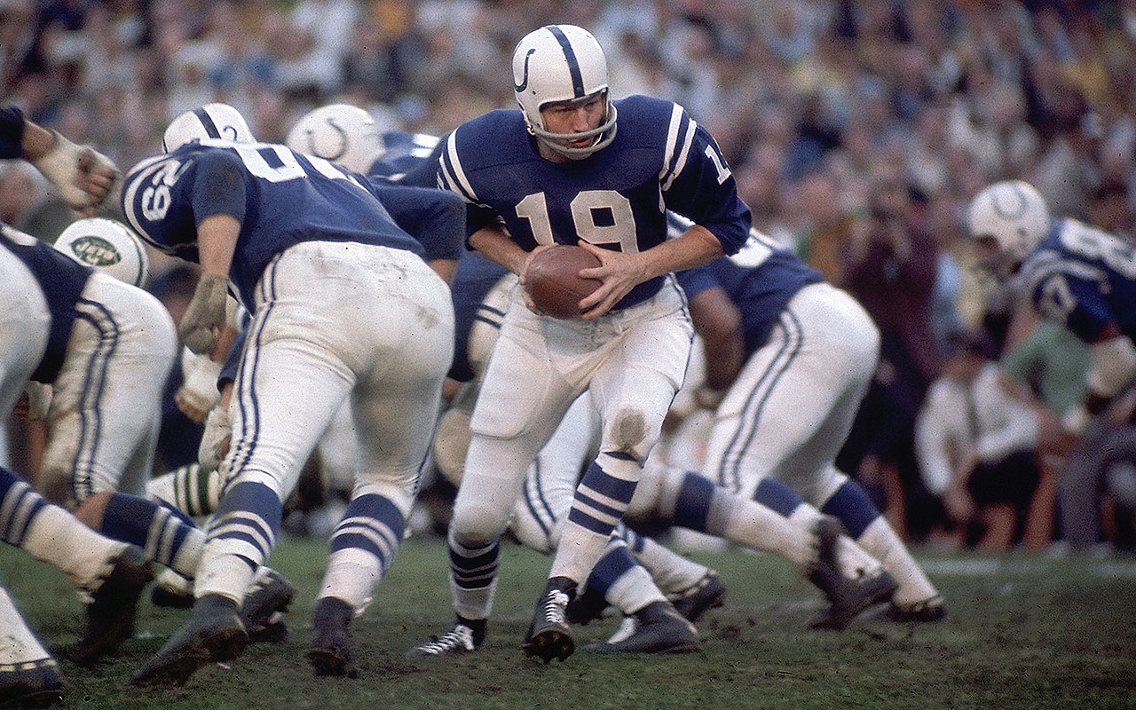 Johnny Unitas Colts Legend Inspired All Of Baltimore Vault