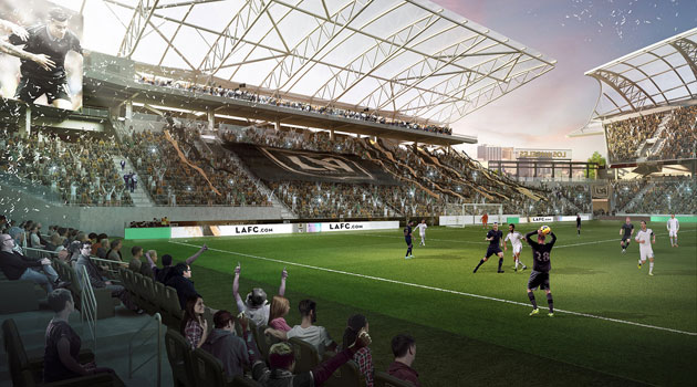 LAFC's stadium for MLS