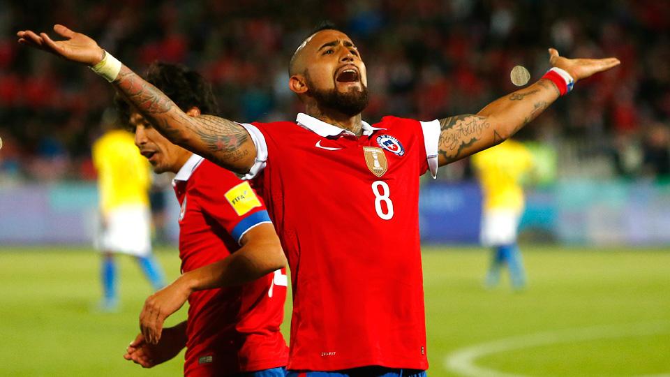 Arturo Vidal will lead Chile at Copa America Centenario