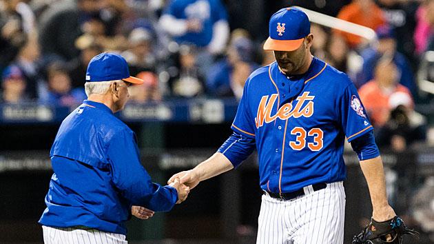 Matt Harvey and Terry Collins, New York Mets