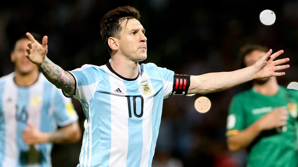 Lionel Messi will lead Argentina at Copa America Centenario