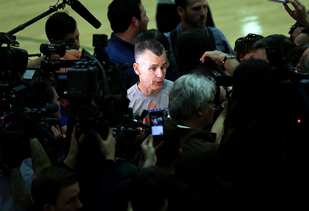 Thunder's Billy Donovan