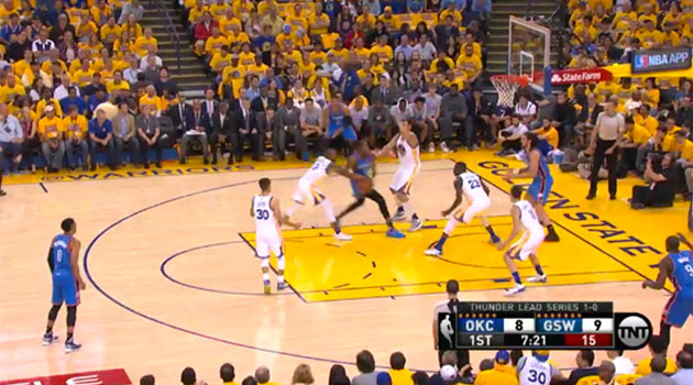 Golden State Warriors vs. Oklahoma City Thunder