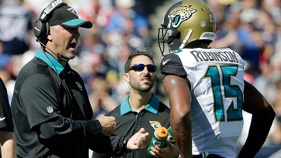 Gus Bradley: Jacksonville Jaguars coach under pressure after strong 2016 NFL draft, bad record