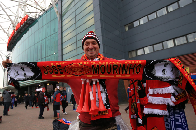 Manchester United fans have been waiting for Jose Mourinho