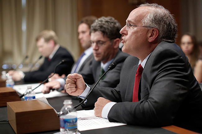 Robert Stern of Boston University testified before the Senate Special Committee on Aging in 2014.