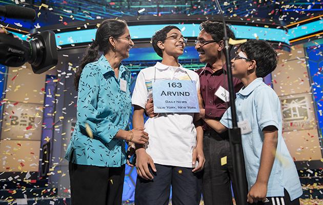 arvind mahankali family spelling bee national