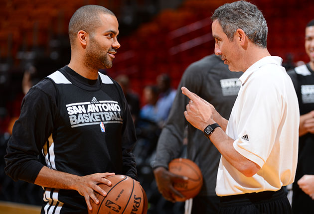 Tony Parker and Chip Engelland